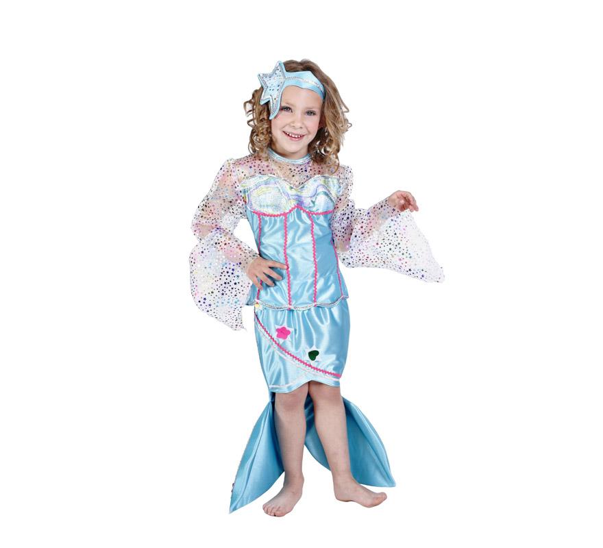 Disfraz de Sirenita para niña (varias tallas) Killbill