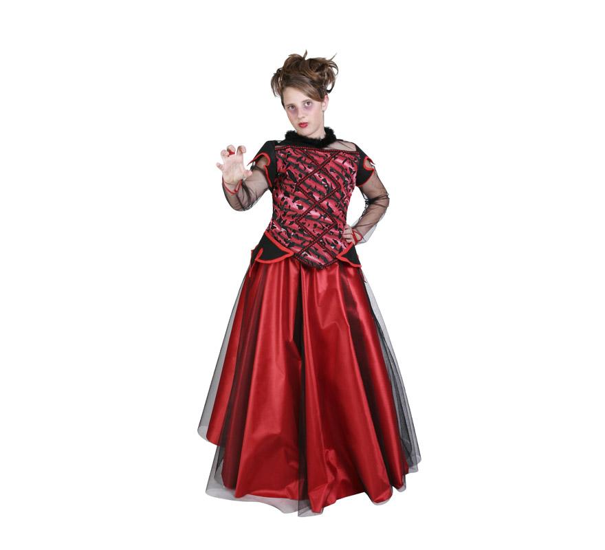Disfraz de Vampiresa para niña (varias tallas)