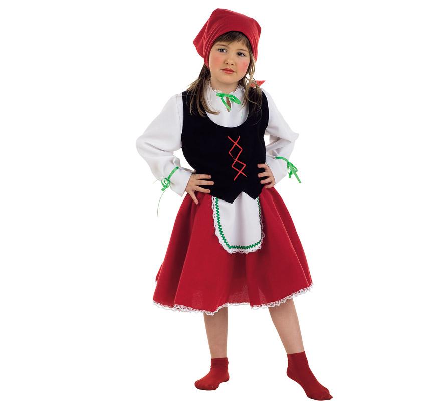 Disfraz de Pastorcita para niñas