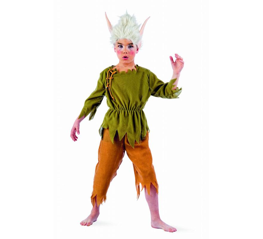 Disfraz elfo lilvast ni o deluxe varias tallas - Disfraz elfo nino ...