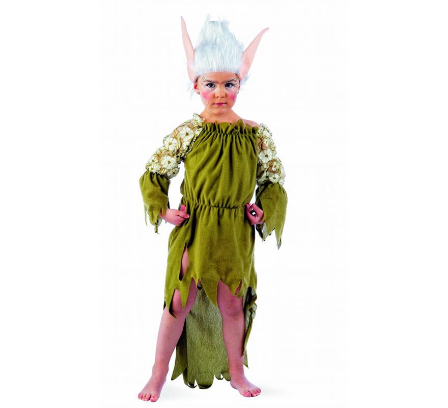 Disfraz de elfa nadia deluxe ni a varias tallas - Disfraz navideno nina ...