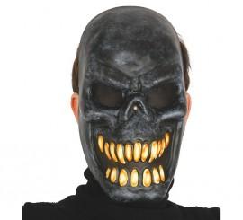 Careta de Esqueleto negra