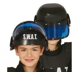 Casco de policía S.W.A.T. infantil