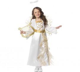 Disfraz de Ángel princesa para niña