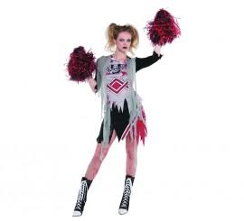 Disfraz de Animadora zombie para mujer en varias tallas para Halloween