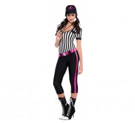 Disfraz de Árbitro de Béisbol para mujer