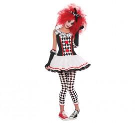 Disfraz de Arlequín para mujer para Halloween