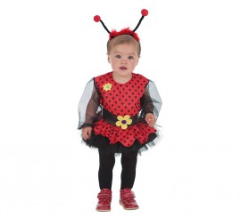 Disfraz de Baby Mariquita niña para bebé