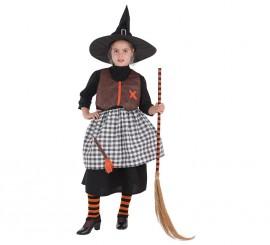Disfraz de Bruja de la Cabaña para niña