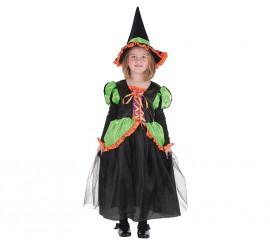 Disfraz de Bruja Luisi para niña