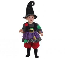Disfraz de Brujita colorines para bebé