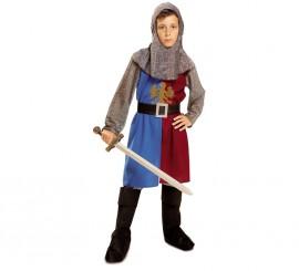 Disfraz de Caballero medieval del Águila para niño
