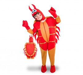 Disfraz de Cangrejo para niños