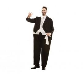 Disfraz de Cantante de Ópera obeso para hombre