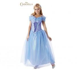 Disfraz de Cenicienta Live Action de Disney para mujer