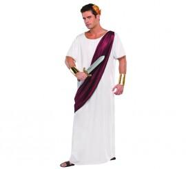 Disfraz de César Romano para hombres en talla estándar M-L