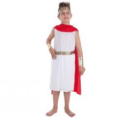 Disfraz de César romano para niño