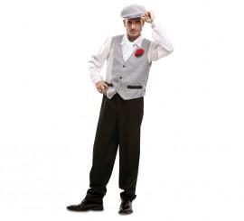 Disfraz de chulapo o madrileño para hombres en varias tallas