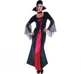 Disfraz de Condesa Vampira para mujer en varias tallas para Halloween