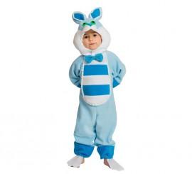 Disfraz de Conejito azul para bebés de 18 meses