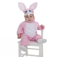 Disfraz de Conejito Rosa para bebé