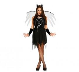Disfraz de Demon Woman negro en varias tallas