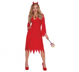 Disfraz de Diablesa para mujer en varias tallas para Halloween