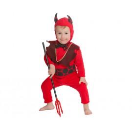 Disfraz de Diablillo rojo para bebés de 18 meses para Halloween