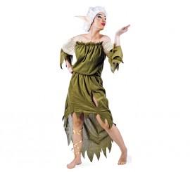 Disfraz de Elfa Nadia deluxe