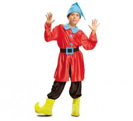 Disfraz de Enanito rojo para niño