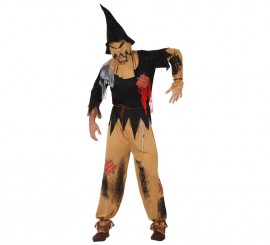 Disfraz de Espantapájaros Siniestro para Halloween