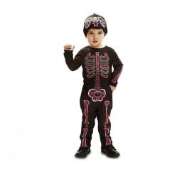 Disfraz de Esqueleto para bebés y niños en varias tallas para Halloween
