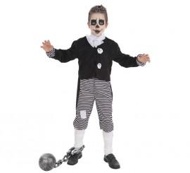 Disfraz de Esqueleto Skeletboy para niño