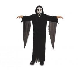 Disfraz de Fantasma con máscara para niños en varias tallas para Halloween