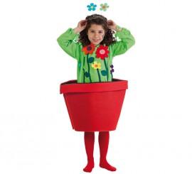 Disfraz de Flores en Maceta para niña