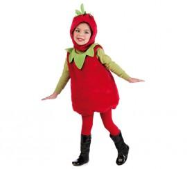 Disfraz de Fresita para niña