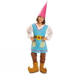 Disfraz de Gnoma para niña