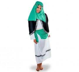 Disfraz de Hebrea verde