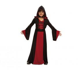 Disfraz de Hechicera roja para niñas para Halloween
