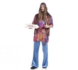 Disfraz de Hippie Guido para hombre