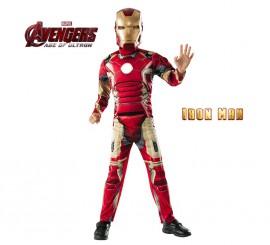 Disfraz de Iron Man deluxe de los Vengadores 2 para niño