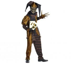 Disfraz de Joker diabólico para hombres Halloween