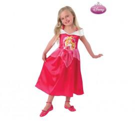 Disfraz de La Bella Durmiente para niña