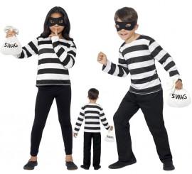 Disfraz de Ladrón de bancos para niños