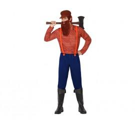 Disfraz de Leñador para hombres en varias tallas