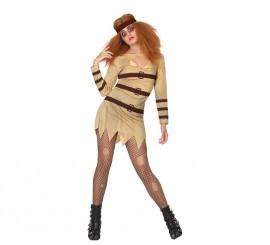 Disfraz de Loca para mujer en varias tallas para Halloween