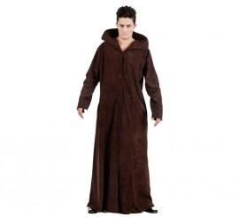 Disfraz de Monje Zombie con abrigo para hombre