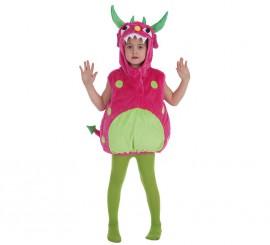 Disfraz de Monstruito fucsia para niños