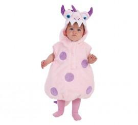 Disfraz de Monstruito Rosa para niños