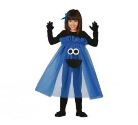 Disfraz de Monstruo tutú azul en varias tallas